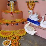 Saraswati Puja 2020 Celebration at B. D. Memorial Bansdroni