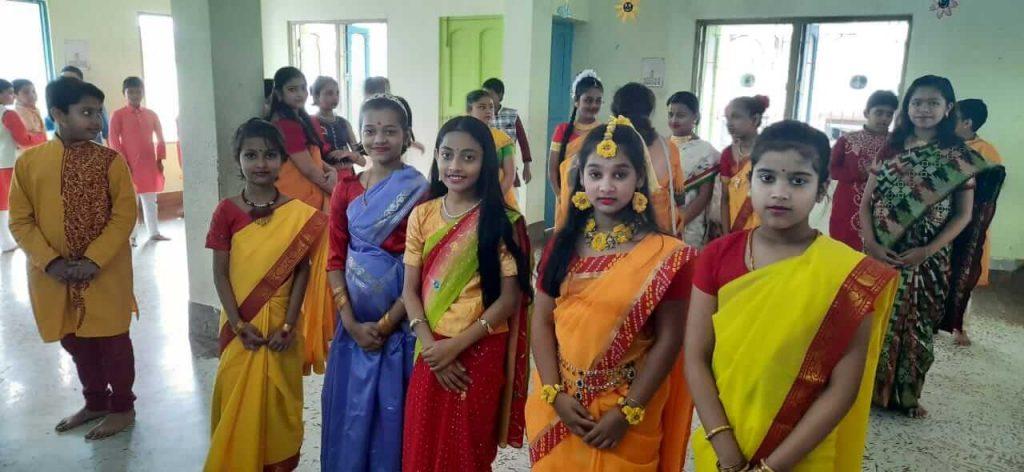 Saraswati Puja 2020 Celebration at B. D. Memorial Garia-Primary
