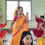 Saraswati Puja 2020 Celebration at B. D. Memorial Mahamayatala